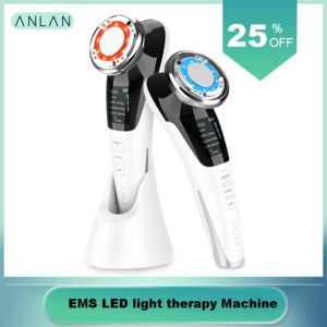 EMS LED light therapy Sonic Vibration Wrinkle Remover Facial Massage With ION And Photon Function Hot Cool Treatment Face Care 1