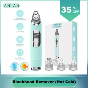 Blackhead Remover Hot Cold Facial Cleaner Deep Pore Acne Pimple Removal Vacuum Suction Diamond Beauty Tool Face SPA Skin Care 1