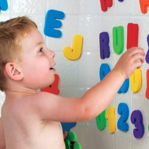 36PCs English Letters Bath Puzzle Soft EVA Kids Baby Toys New Early Educational Kids Tool Bath Toy Funny Toy 1